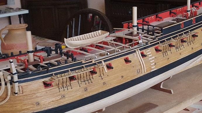 La Confederacy de 1772 au 1/64 par Model Shipways - Page 11 Suite_35