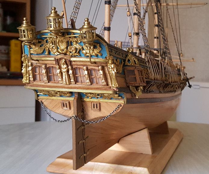 Photos de la Royal Caroline de Panart au 1/47e (Fin de chantier en 2016) Tablea18