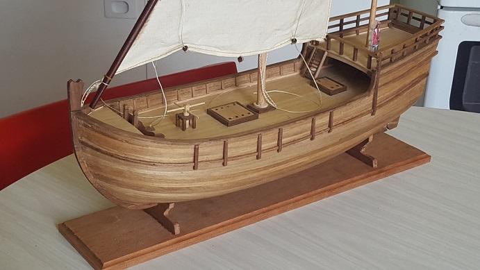 Reconstruction de la Nina (Christophe Colomb - 1492) Voilur83