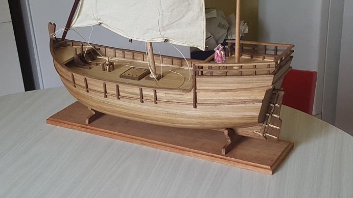 Reconstruction de la Nina (Christophe Colomb - 1492) Voilur84