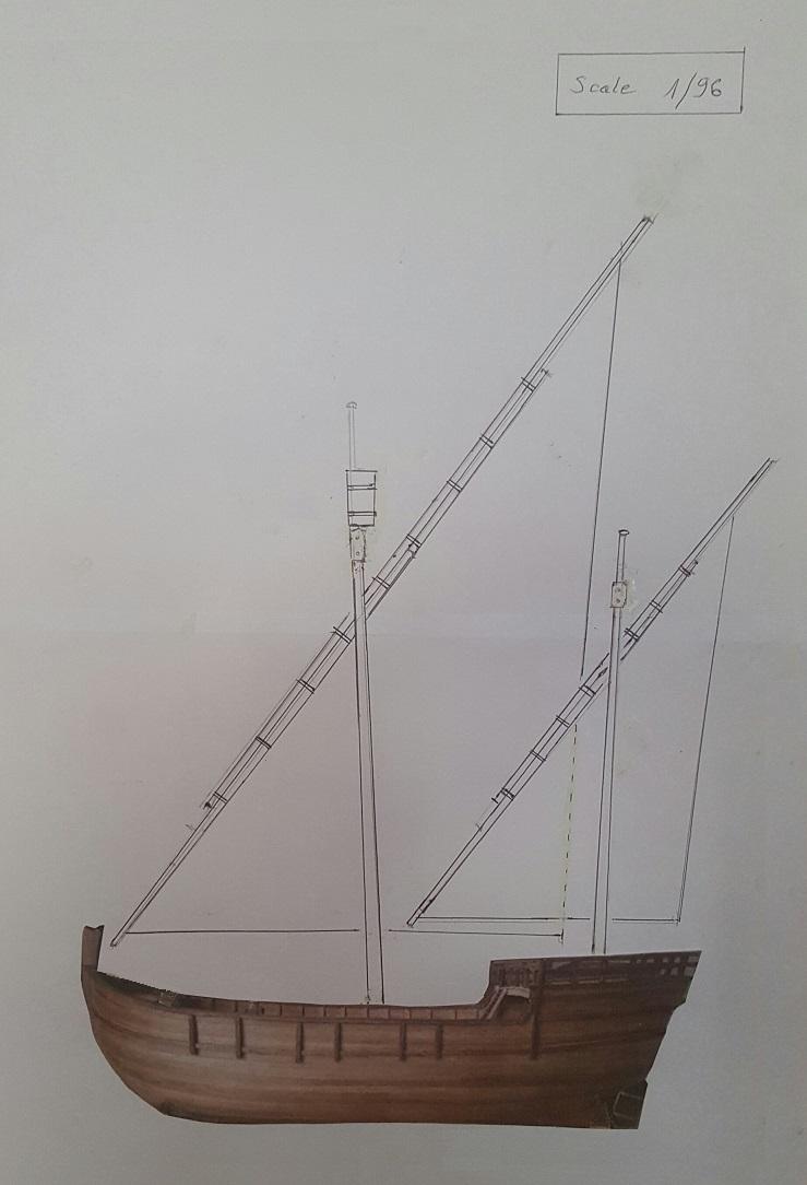 Reconstruction de la Nina (Christophe Colomb - 1492) Voilur87