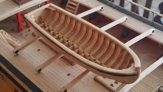 La Confederacy de 1772 au 1/64 par Model Shipways - Page 11 Waist_26