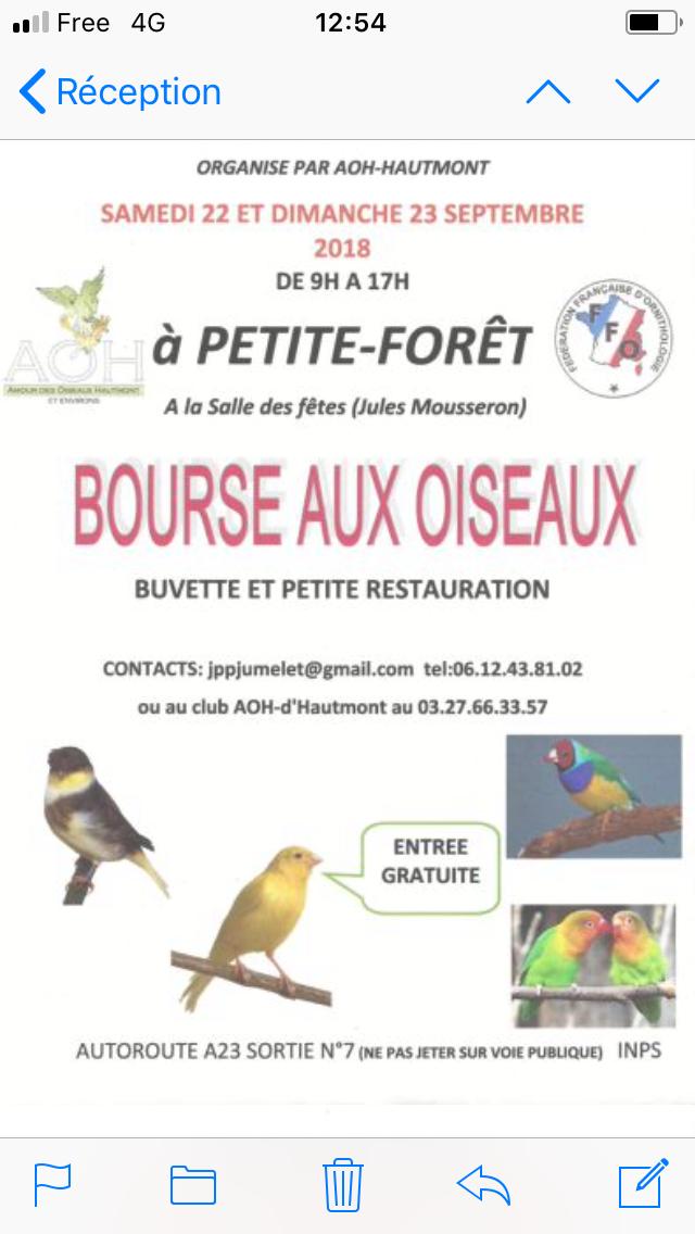 Bourse à Petite-Forêt A2789d10