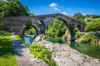Post / Ansichtskarten mit Brücken Puente10