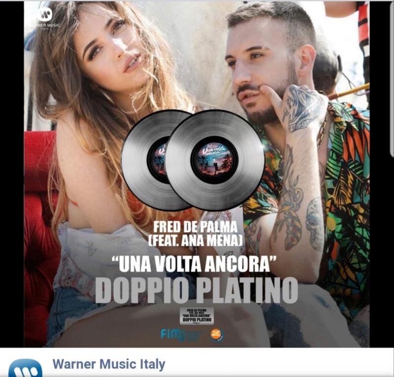 "Ana Mena >> Single ""A un passo dalla luna (Feat. Rocco Hunt)"" - Página 12 20190810"