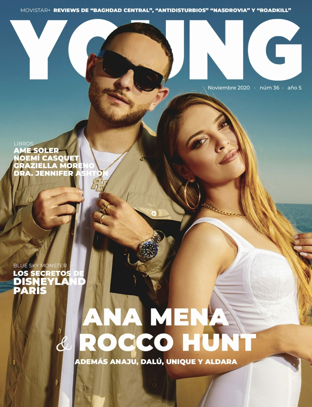 "Ana Mena >> Single ""A un passo dalla luna (Feat. Rocco Hunt)"" - Página 25 Portad10"