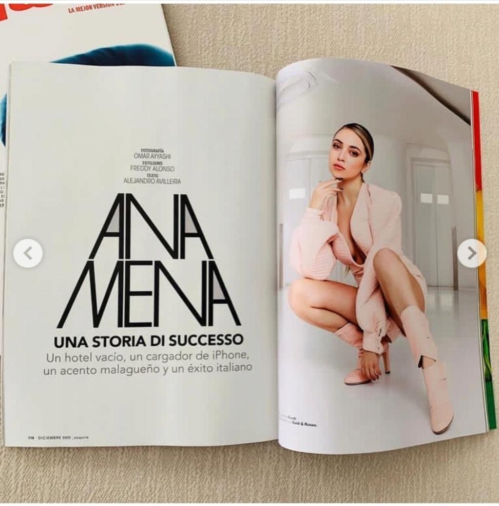 """Ana Mena >> Single """"A un passo dalla luna (Feat. Rocco Hunt)"""" - Página 25 Scree104"""