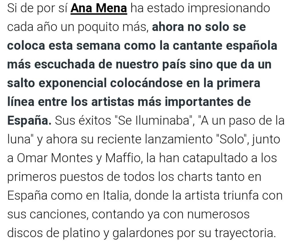 """Ana Mena >> Single """"A un passo dalla luna (Feat. Rocco Hunt)"""" - Página 27 Scree121"""