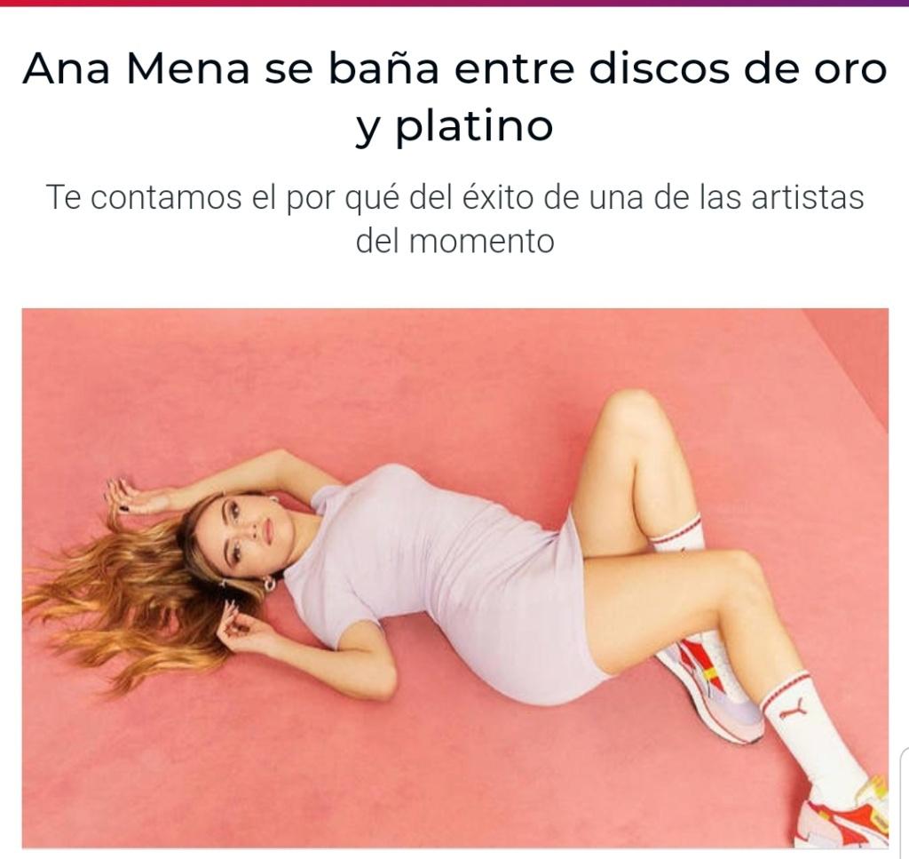 """Ana Mena >> Single """"A un passo dalla luna (Feat. Rocco Hunt)"""" - Página 28 Scree131"""
