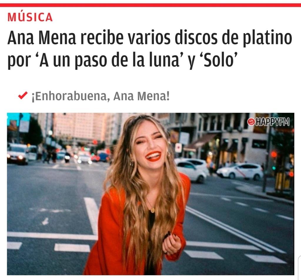 """Ana Mena >> Single """"A un passo dalla luna (Feat. Rocco Hunt)"""" - Página 28 Scree132"""