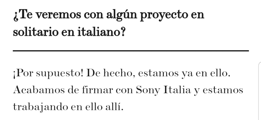 "Ana Mena >> single ""Un bacio All'Improvviso"" (ft. Rocco Hunt) - Página 32 Scree144"