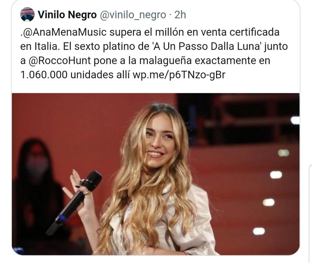 "Ana Mena >> single ""Un bacio All'Improvviso"" (ft. Rocco Hunt) - Página 32 Scree150"