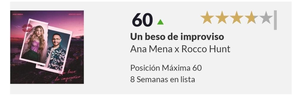 "Ana Mena >> single ""Un bacio All'Improvviso"" (ft. Rocco Hunt) - Página 33 Scree155"
