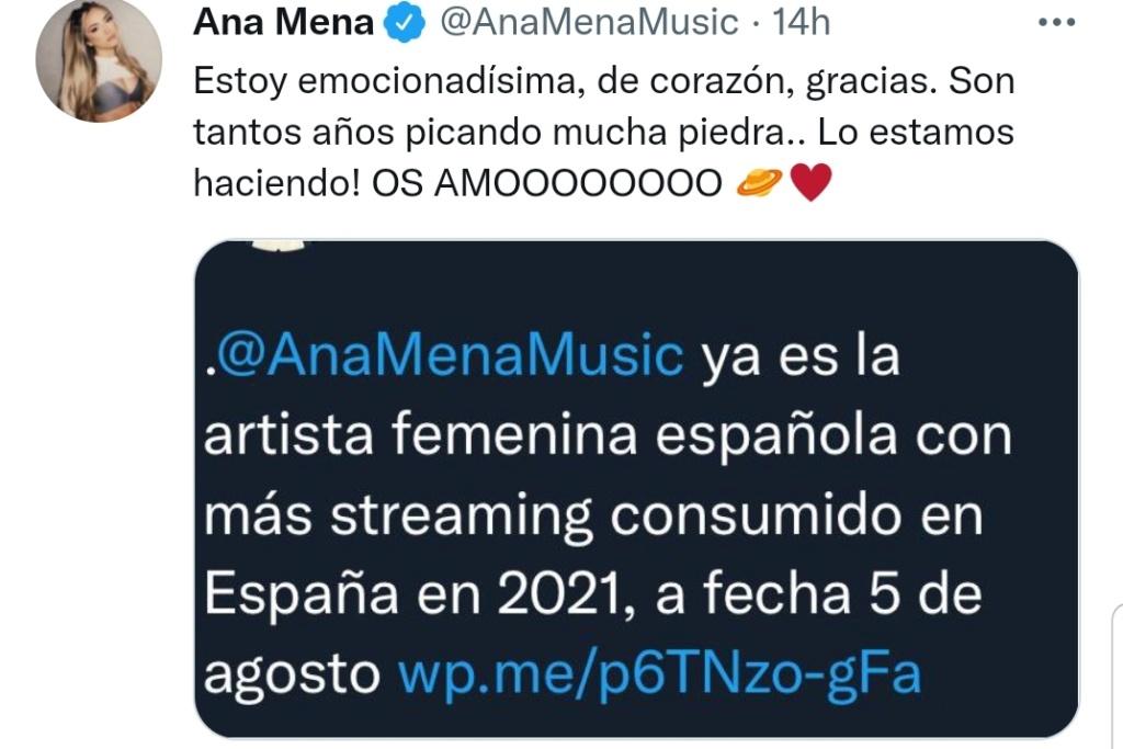 "Ana Mena >> single ""Un bacio All'Improvviso"" (ft. Rocco Hunt) - Página 33 Scree156"