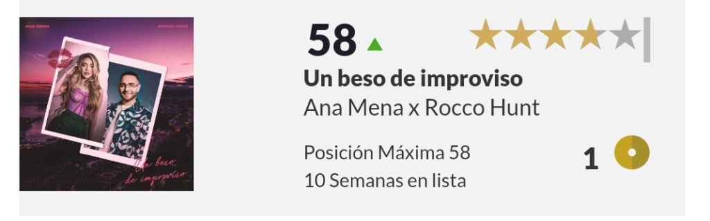 "Ana Mena >> single ""Un bacio All'Improvviso"" (ft. Rocco Hunt) - Página 33 Scree159"