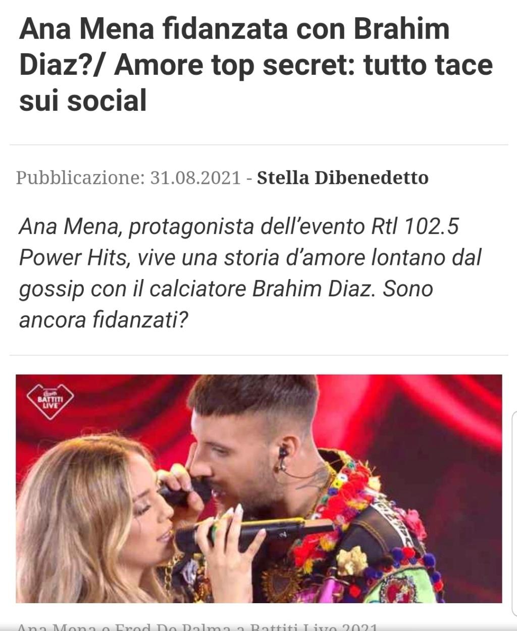 "Ana Mena >> single ""Un bacio All'Improvviso"" (ft. Rocco Hunt) - Página 33 Scree160"