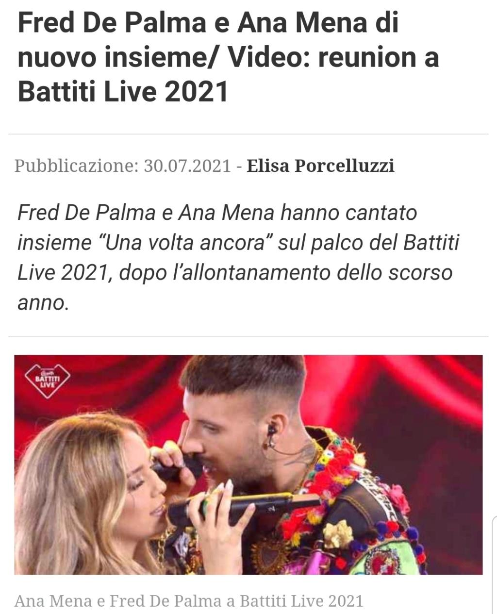 "Ana Mena >> single ""Un bacio All'Improvviso"" (ft. Rocco Hunt) - Página 33 Scree161"