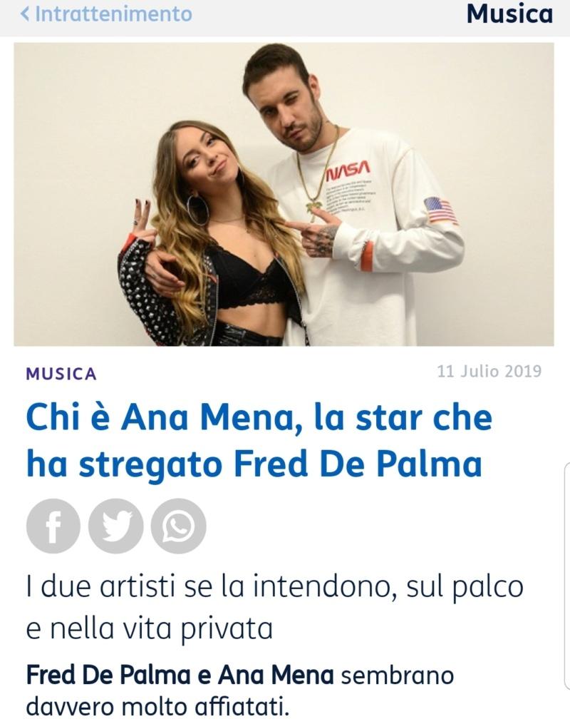 "Ana Mena >> Single ""A un passo dalla luna (Feat. Rocco Hunt)"" - Página 12 Screen24"