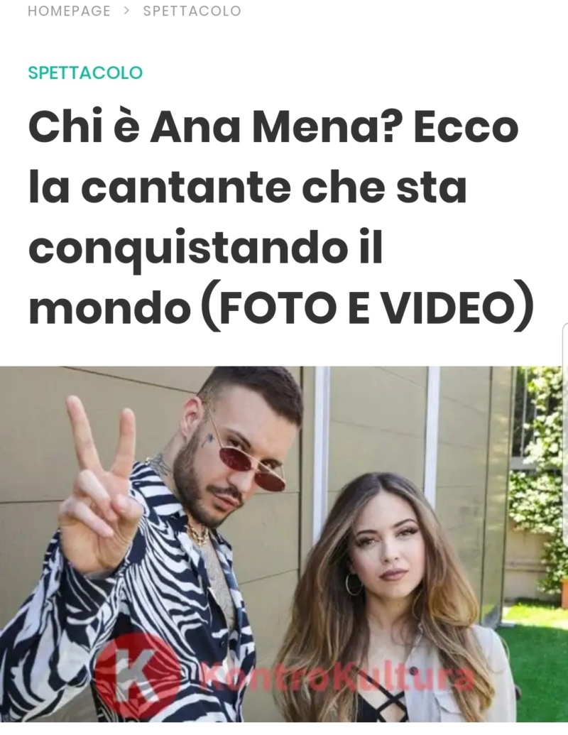 "Ana Mena >> Single ""A un passo dalla luna (Feat. Rocco Hunt)"" - Página 12 Screen26"