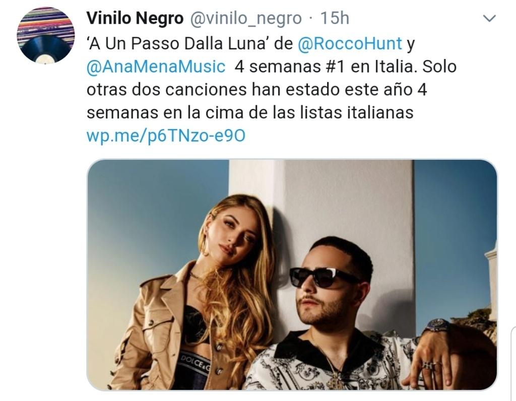 "Ana Mena >> Single ""A un passo dalla luna (Feat. Rocco Hunt)"" - Página 22 Screen82"