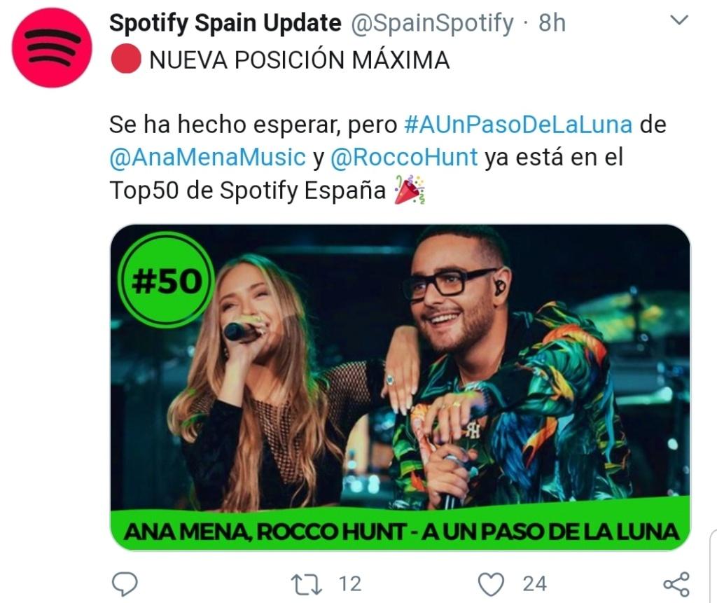 "Ana Mena >> Single ""A un passo dalla luna (Feat. Rocco Hunt)"" - Página 23 Screen89"