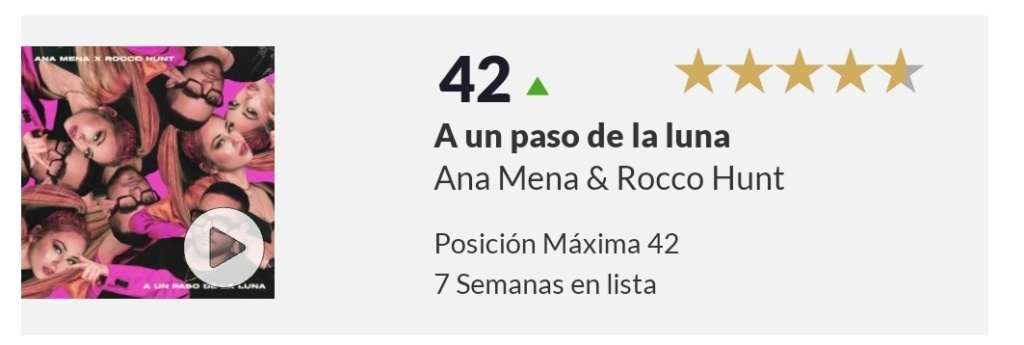 "Ana Mena >> Single ""A un passo dalla luna (Feat. Rocco Hunt)"" - Página 24 Screen91"