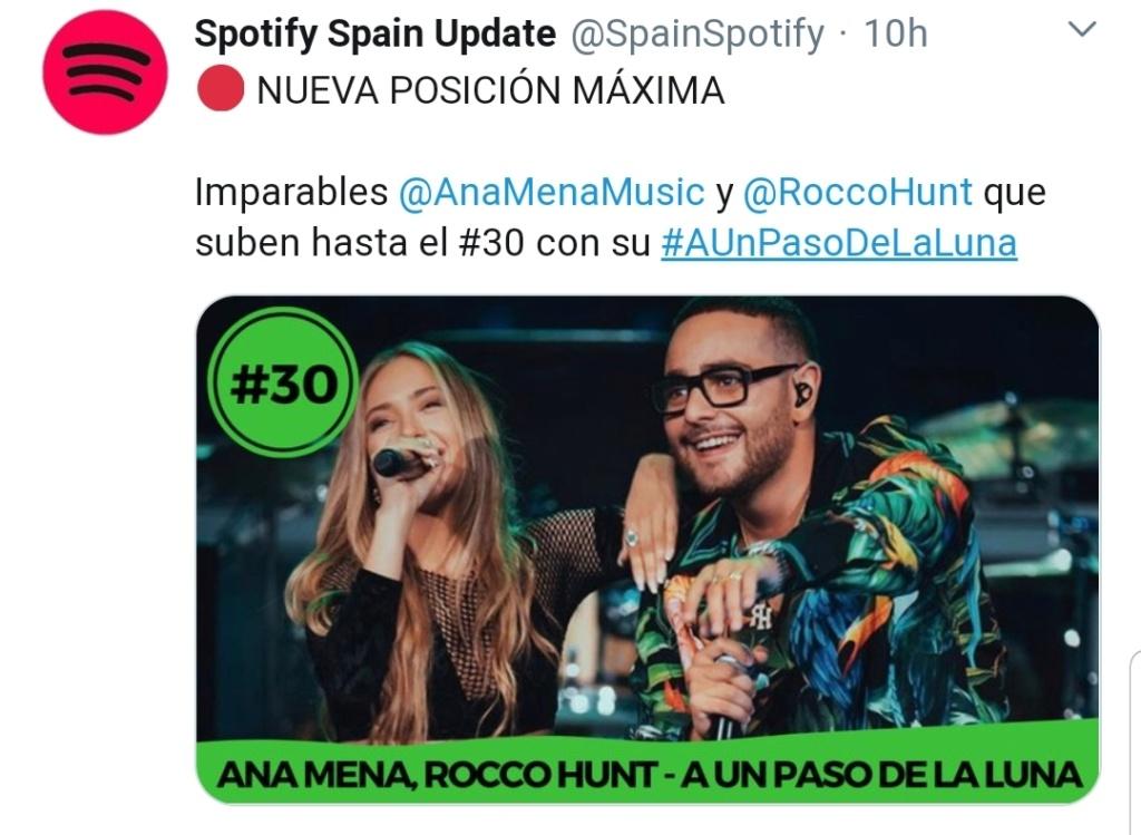 "Ana Mena >> Single ""A un passo dalla luna (Feat. Rocco Hunt)"" - Página 24 Screen92"