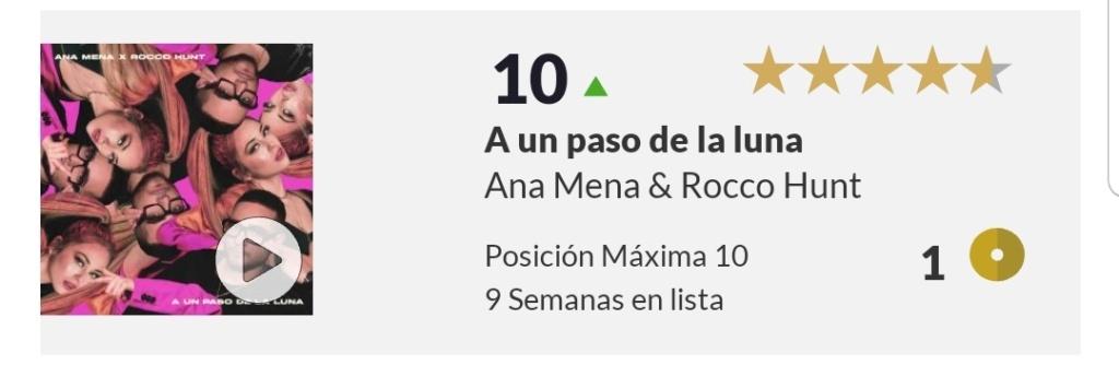 "Ana Mena >> Single ""A un passo dalla luna (Feat. Rocco Hunt)"" - Página 24 Screen96"