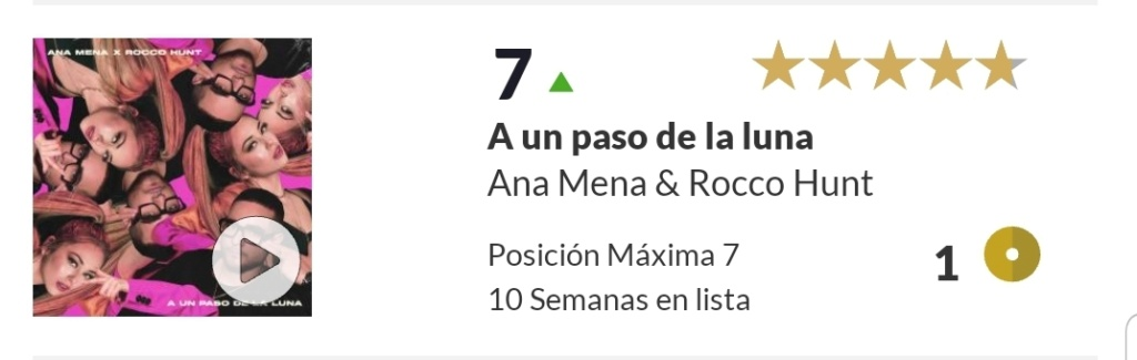 "Ana Mena >> Single ""A un passo dalla luna (Feat. Rocco Hunt)"" - Página 25 Screen99"