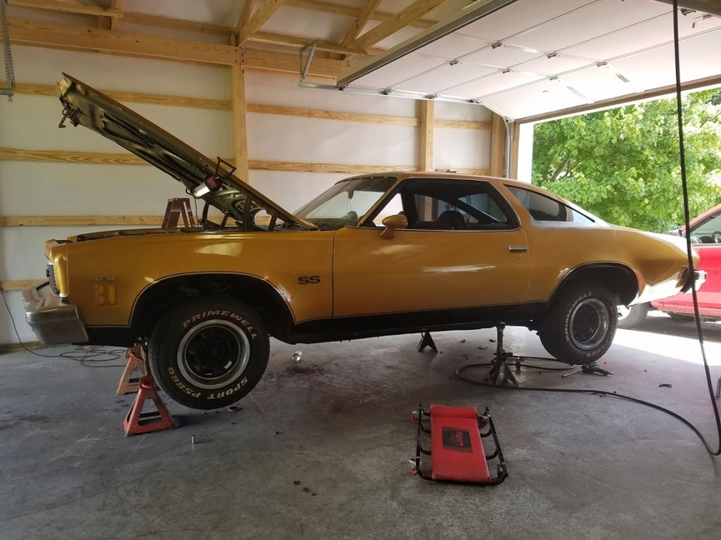 73 Chevelle, getting close 20190510