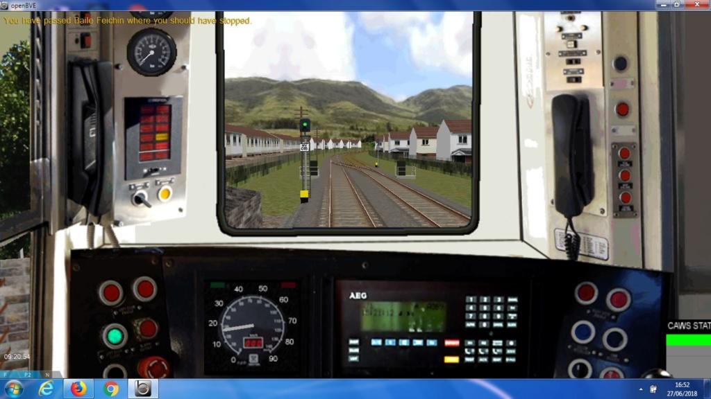 Celtic Trainsim: Irish Train Class 2700-2 DMU Ir410