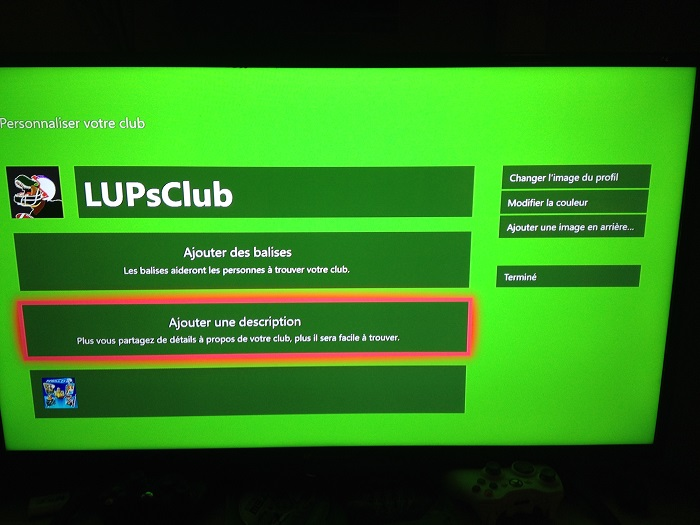 LUP's Club Xbox one Img_7310