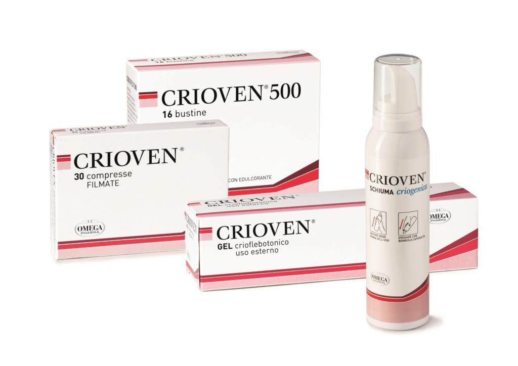 Crioven di Omega Pharma: per combatte affaticamento e pesantezza delle gambe 89f00210