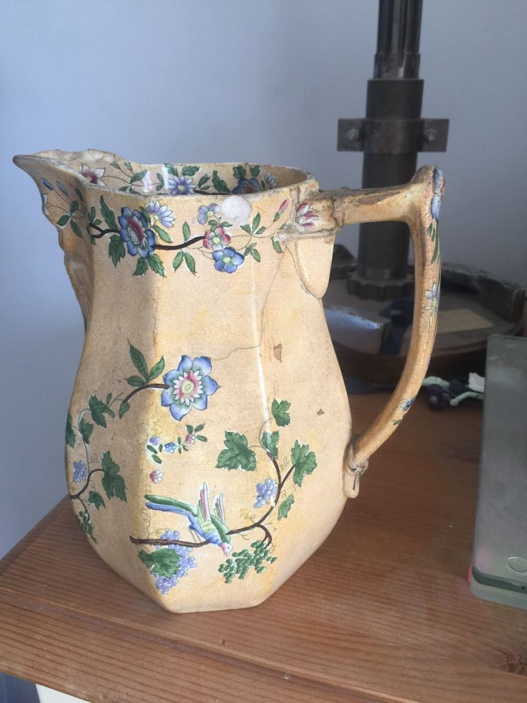 New Blanche, Copeland and Garrett jug with face under spout 33798210