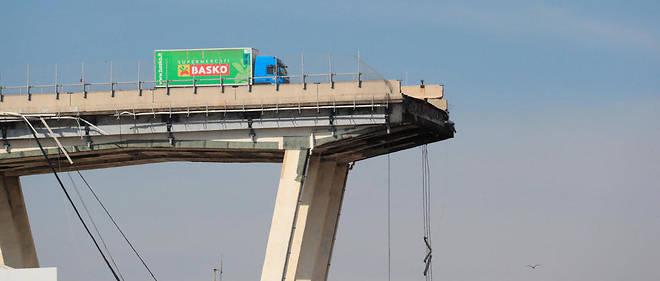 Gênes : un viaduc sous la responsabilité d'un géant privé des transports 16309310