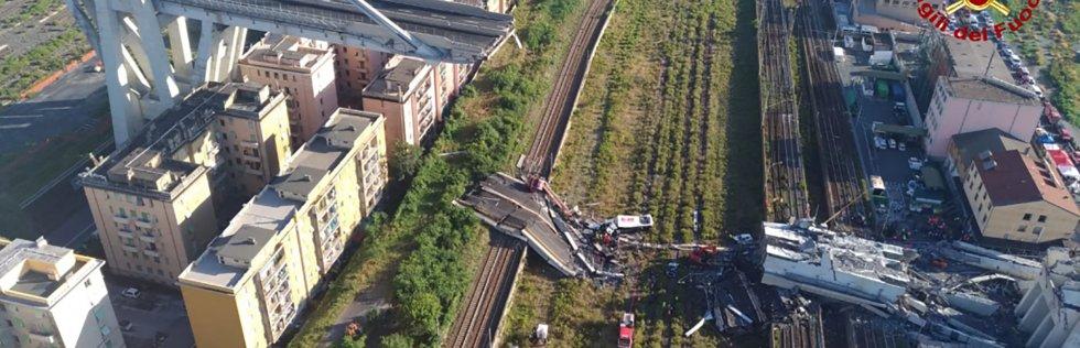 Gênes : un viaduc sous la responsabilité d'un géant privé des transports Genova10
