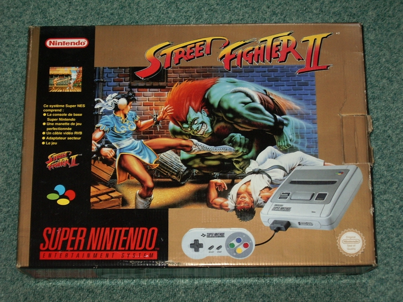 [ACH] Pack nes turtles  et pack snes street fighter bleu ou doré Consol11