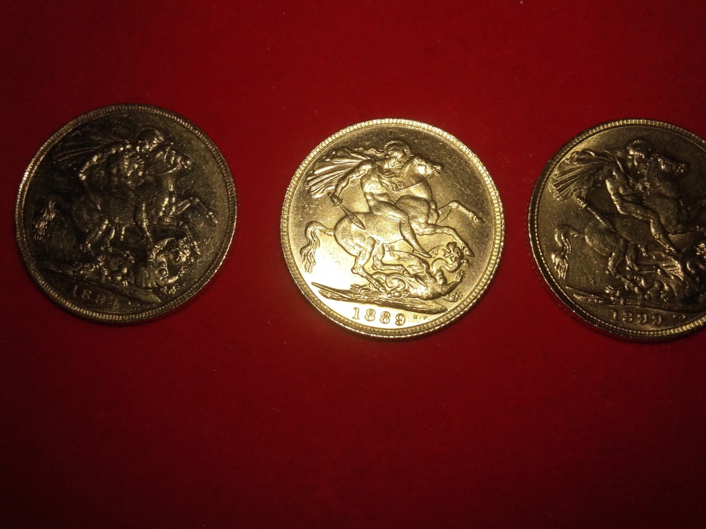 SERIE  de 6 soberanos de oro de la reina Victoria,Edward  VII y George V.  20181223