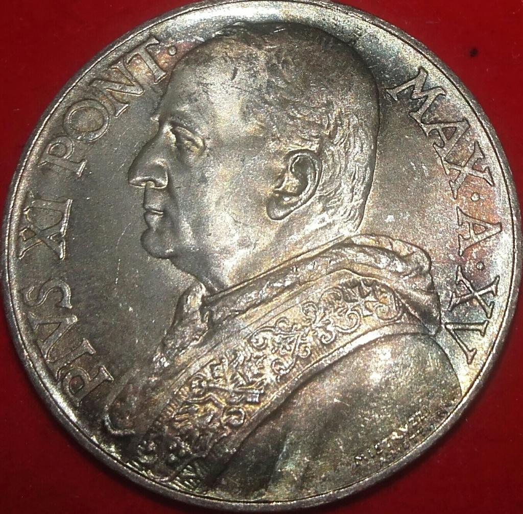 10 Lire 1936 Pio XI (1922- 1939) Flor de cuño. 20181250