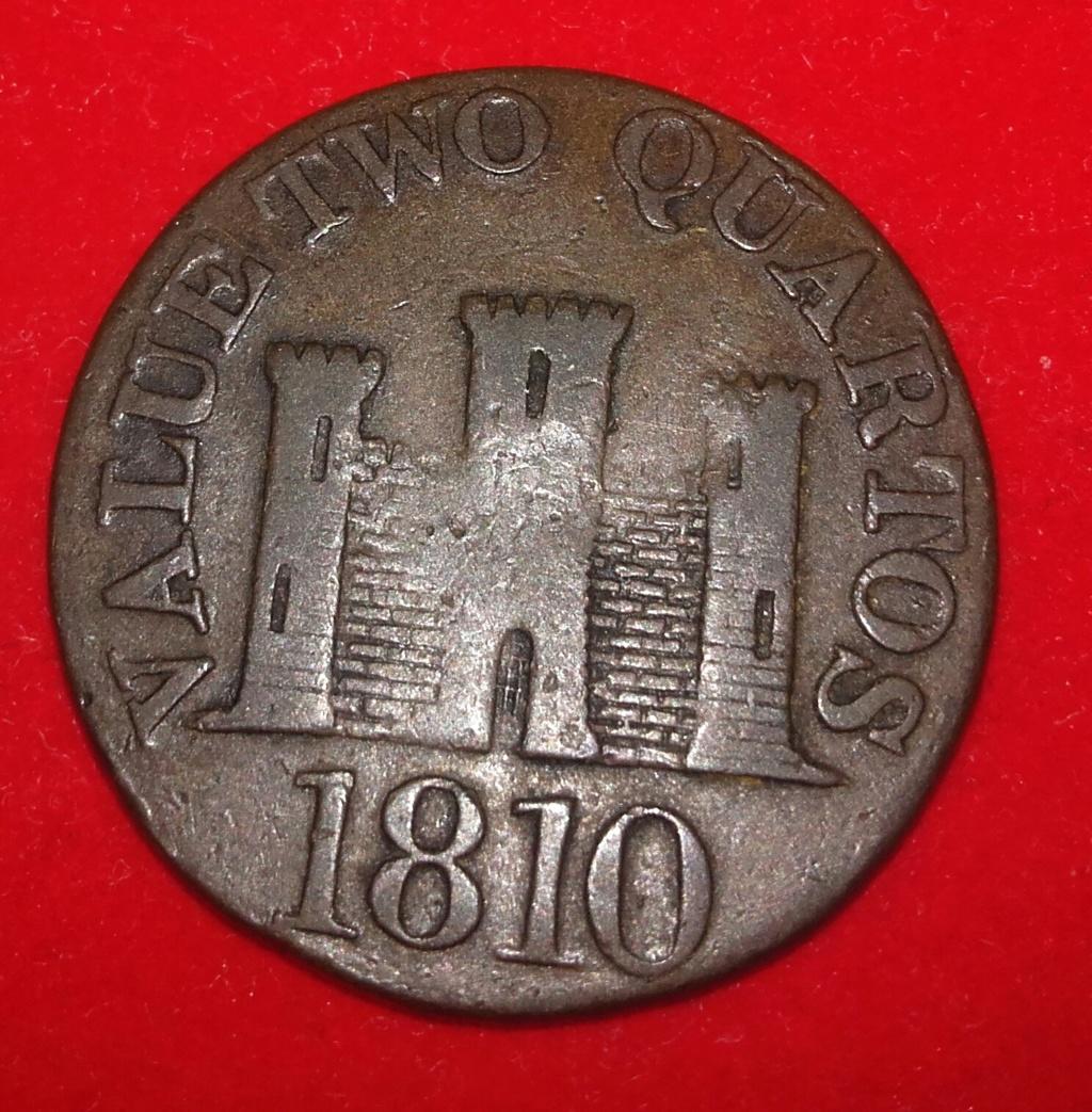Moneda del peñón de Gibraltar de 1810.... 2 quartos. 20181255