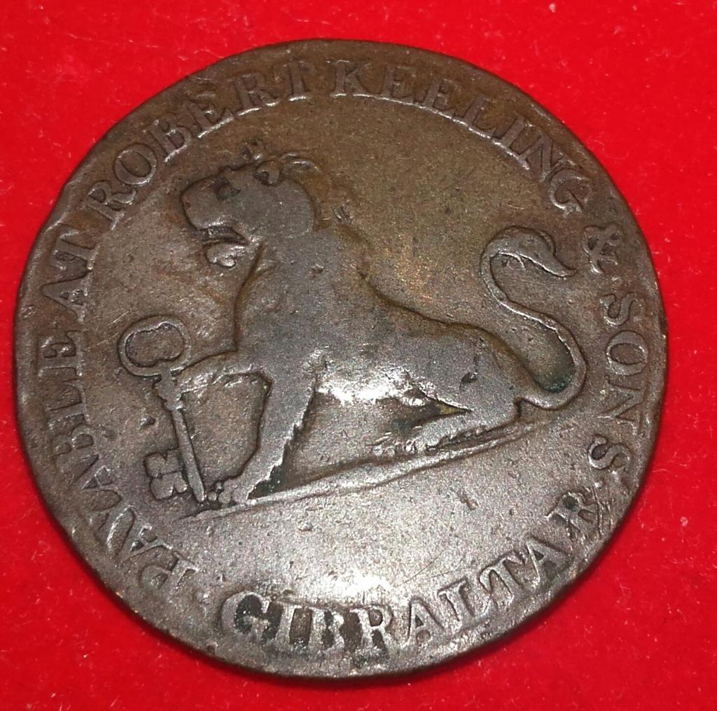 Moneda del peñón de Gibraltar de 1810.... 2 quartos. 20181256