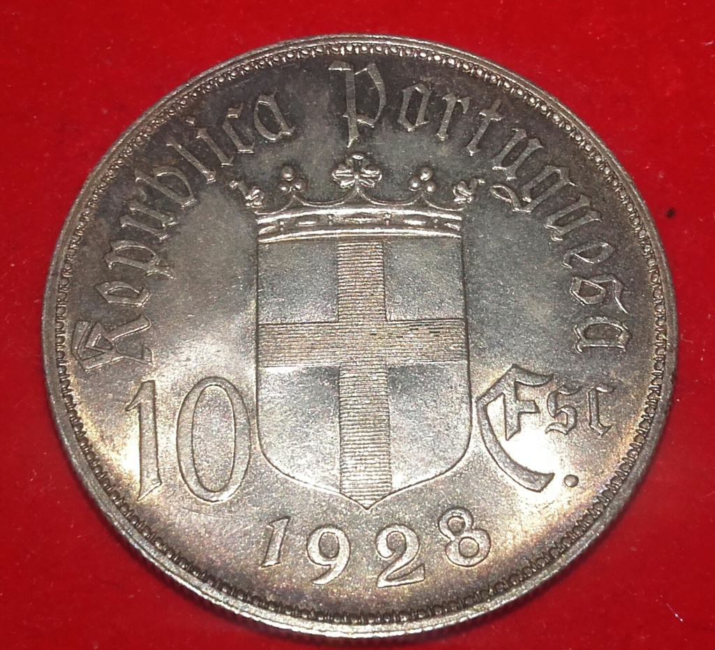 "10 Escudos ""Battle of Ourique"" Portugal 20181258"