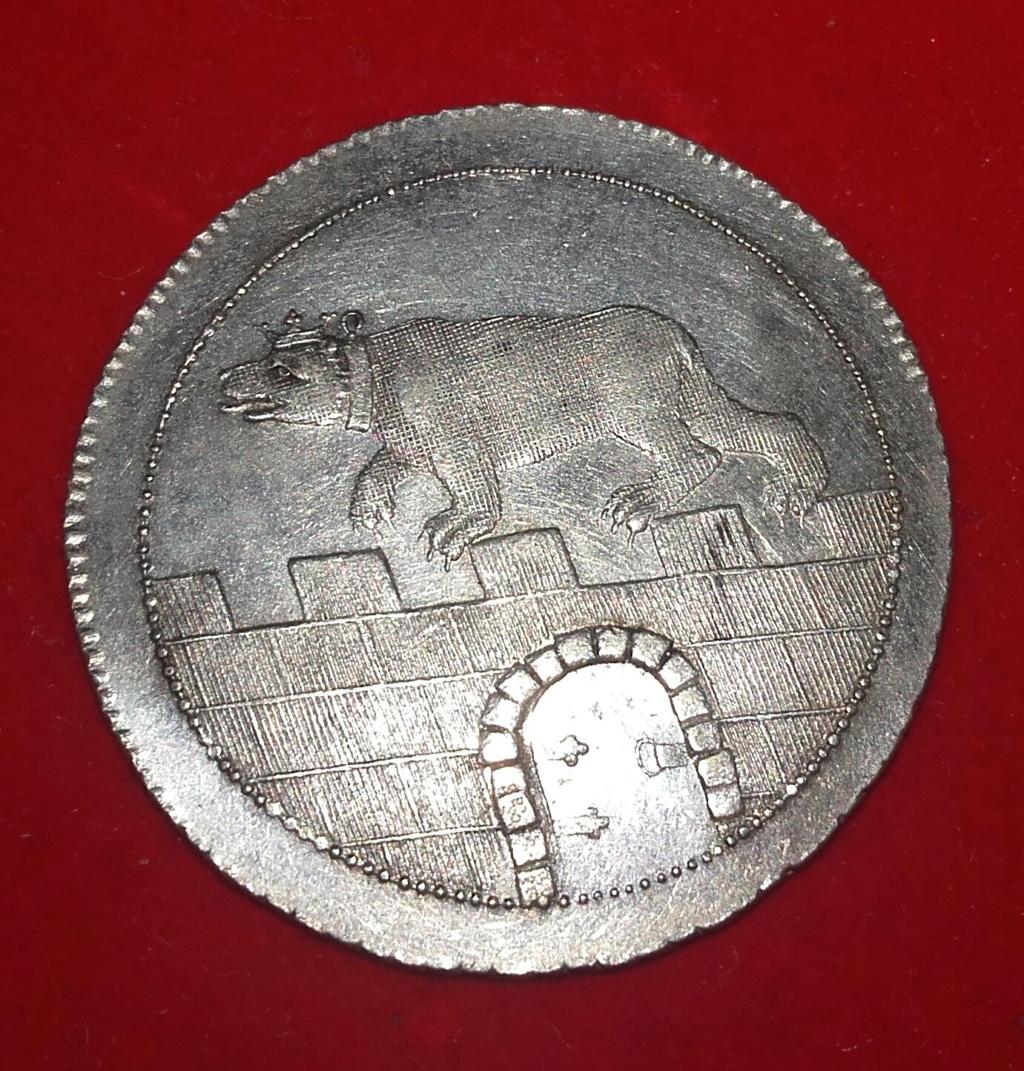Anhalt Eine Feine Mark 1799 (Alemania) 20181259