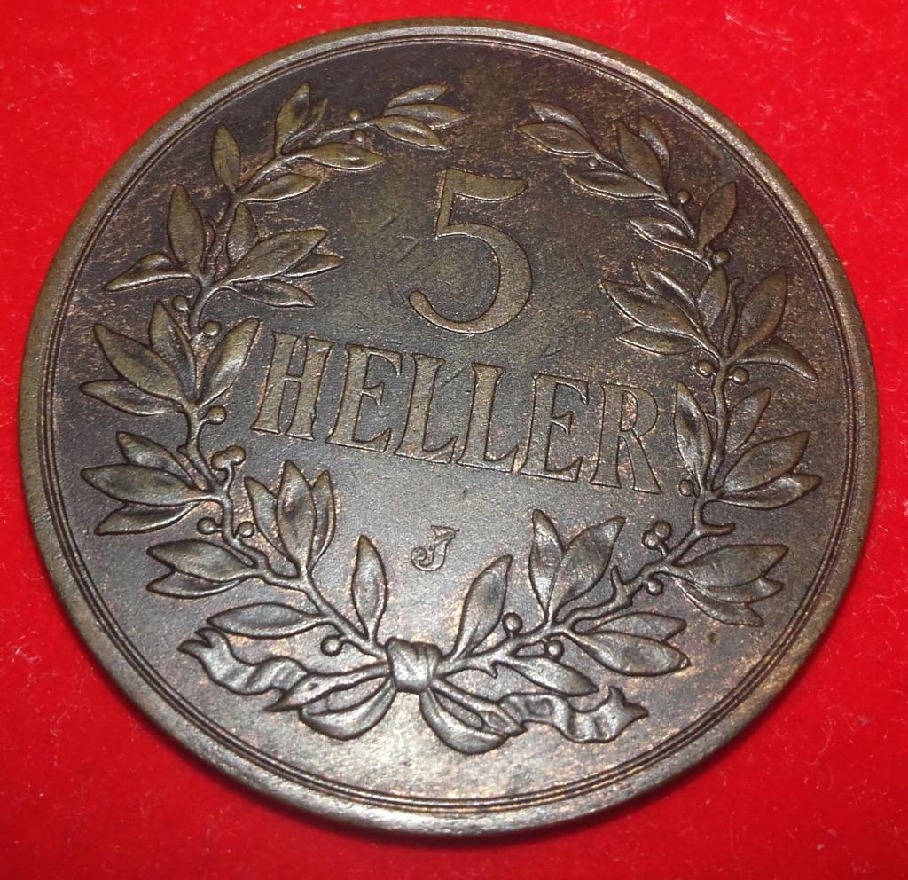5 Heller East-Africa Imperio Alemán Wilhelm II 1908 20181262