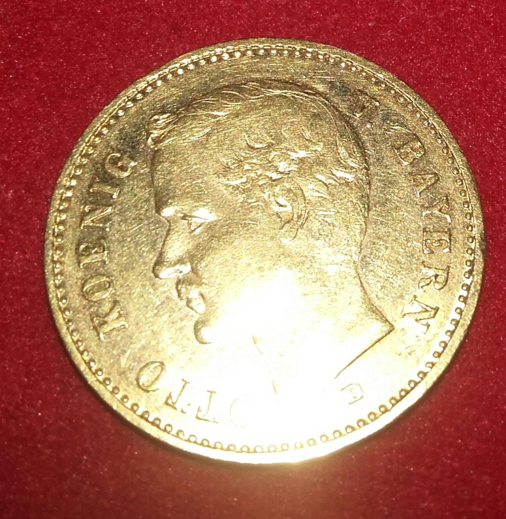 10 Marcos  Baviera-Alemania 1905 D Oro 20190117