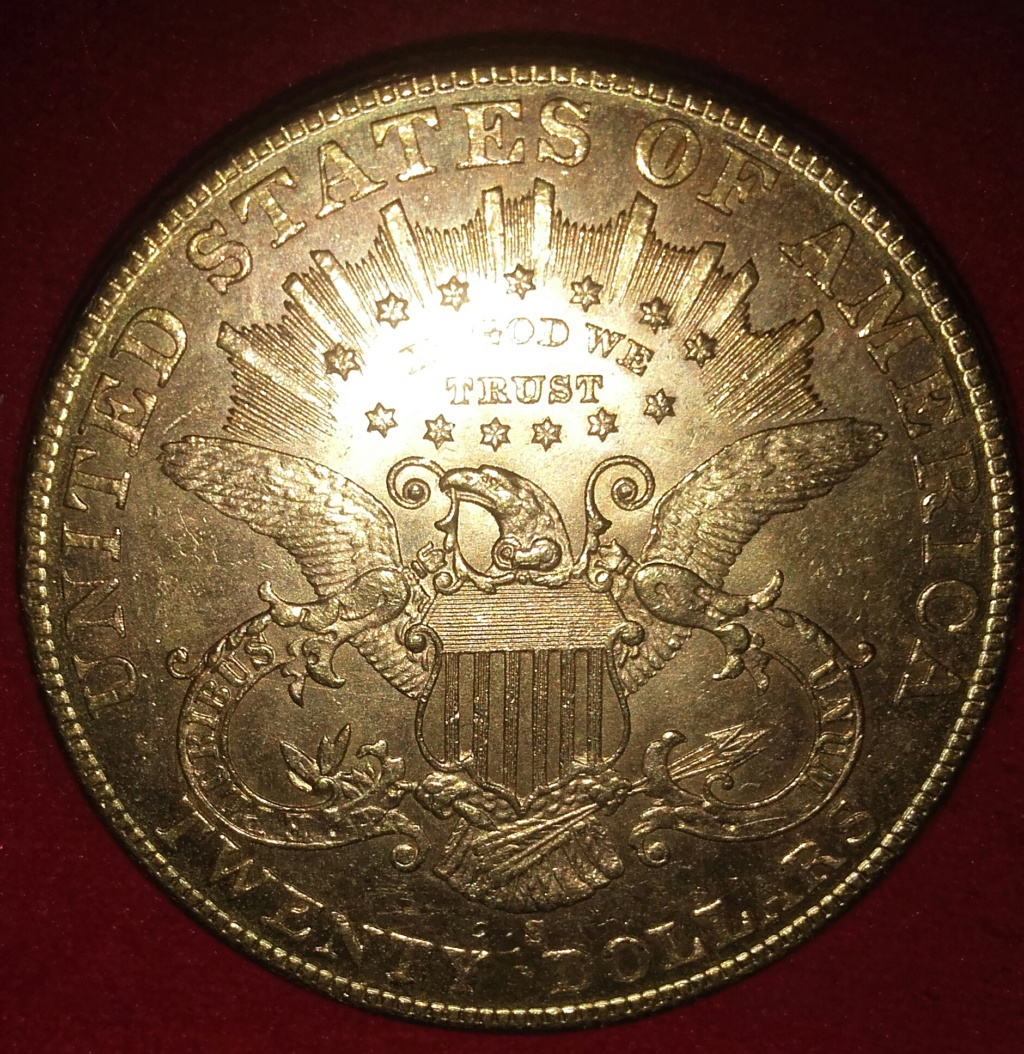$20 Liberty Head oro 1904 S (San Francisco) 20190118