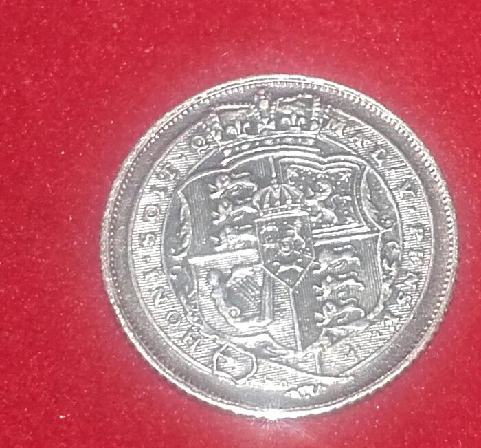 6 Pence - George III - Gran Bretaña-1816 20190121