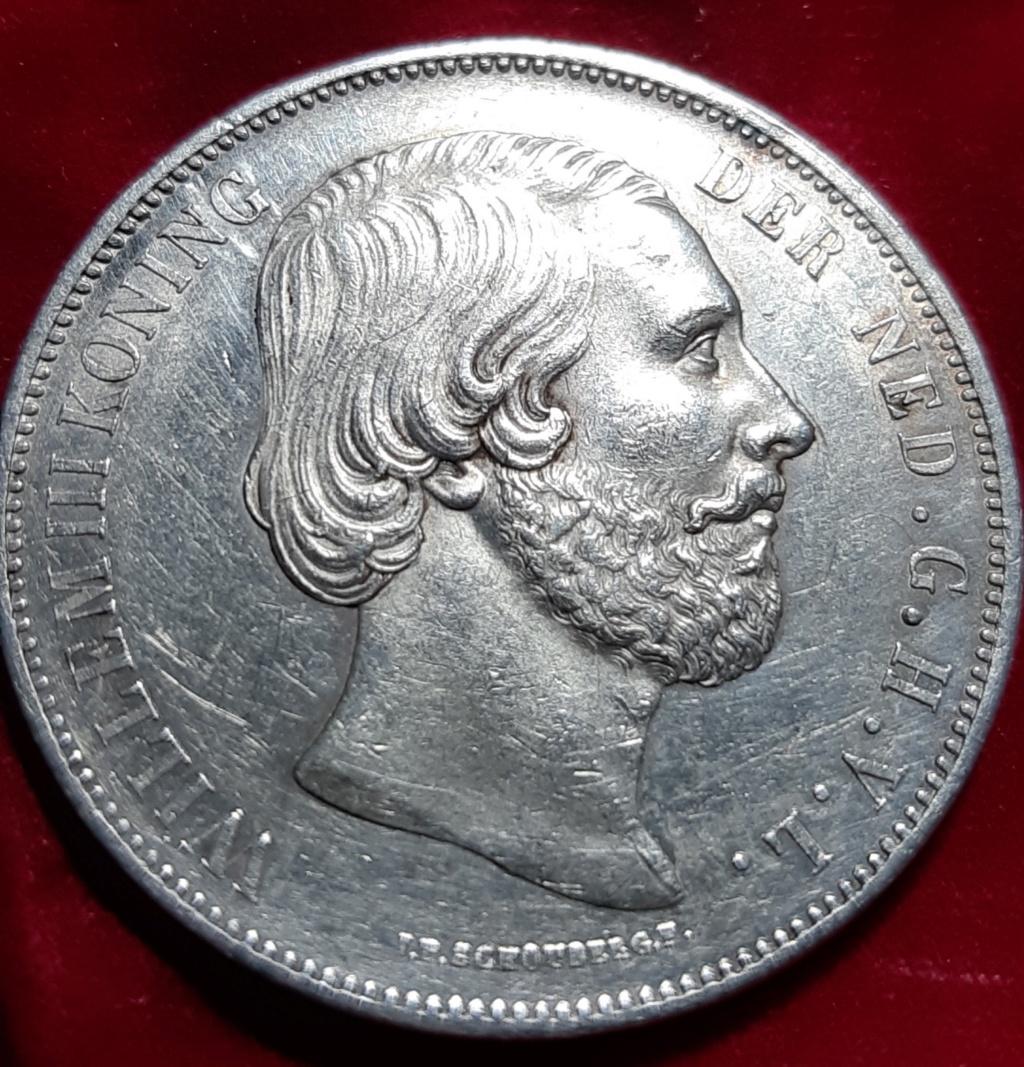 2 1/2 GULDEN 1873 Nederlanden  20190814