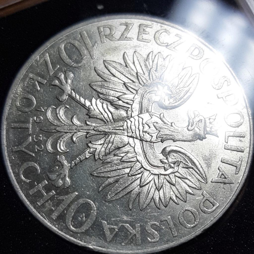 10 Zlotych (Queen Jadiwiga) dedicado a jose.lagarda 20190821