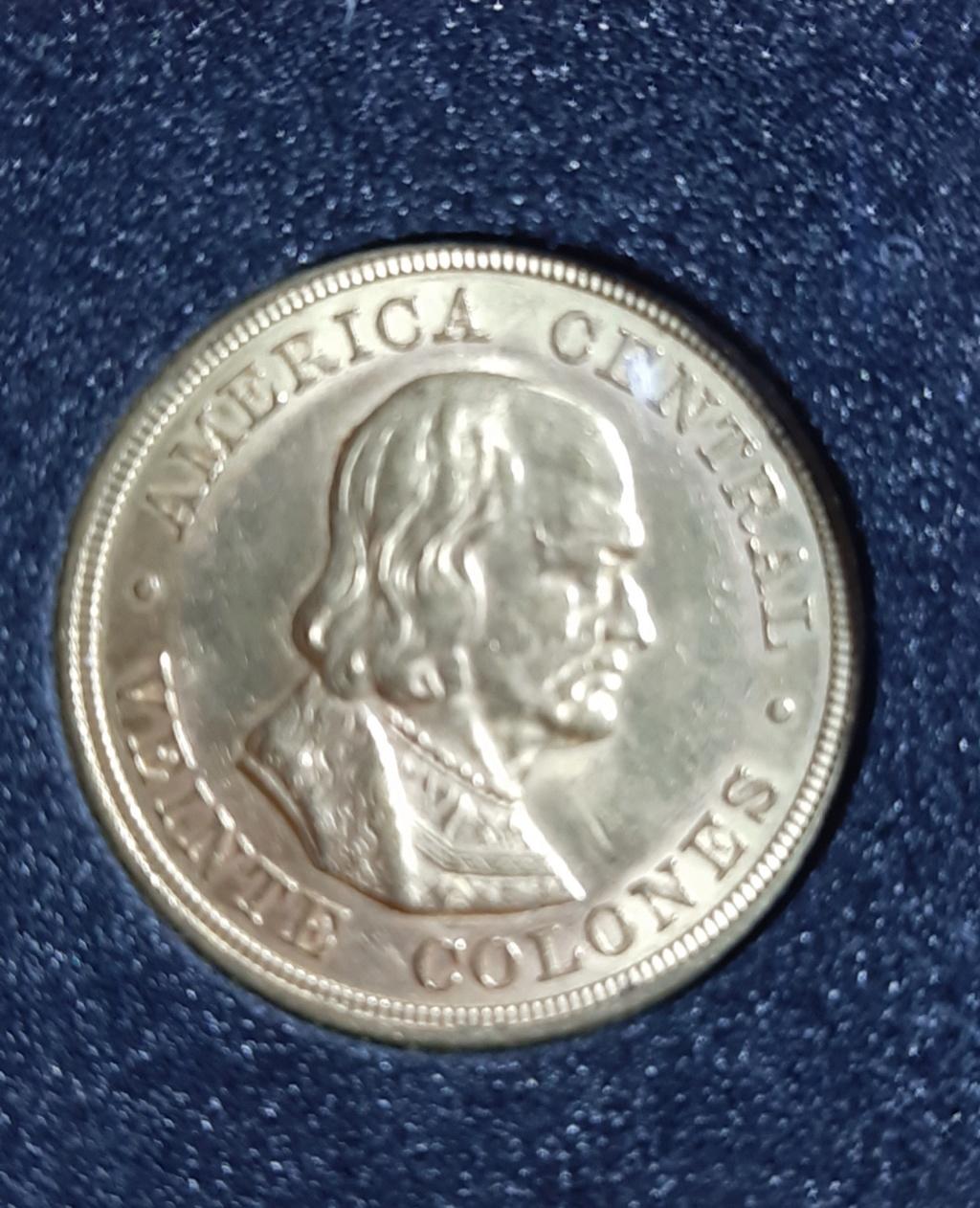 República de Costa Rica - 20 Colones - 1899 - oro  20190825